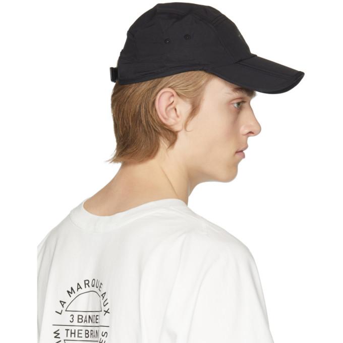 782d04f622d Y-3 Logo Printed Foldable Nylon Hat
