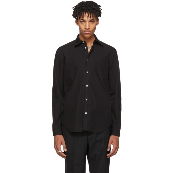 Black Pocket Shirt by Maison Margiela
