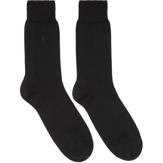 Alexander McQueen Tonal Skull Socks