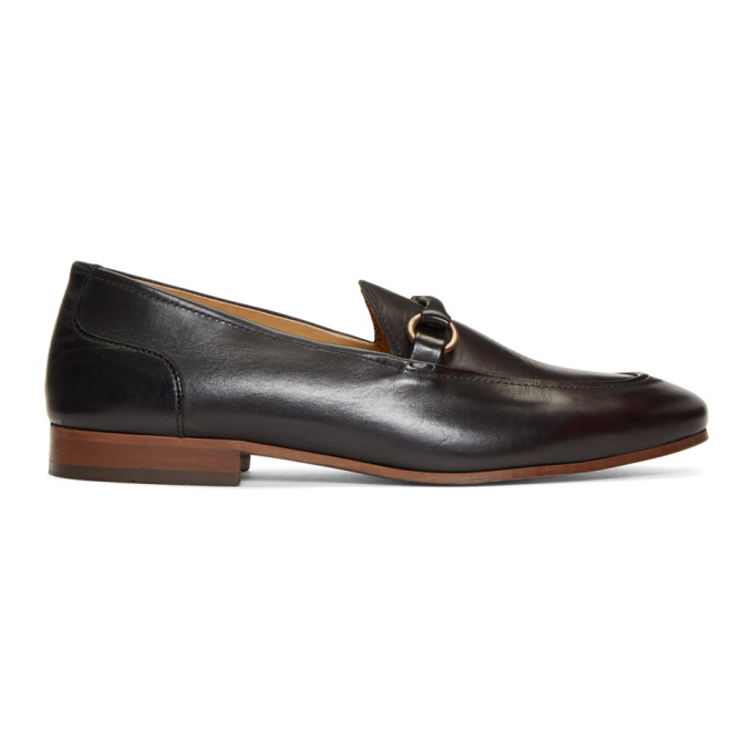 H BY HUDSON H By Hudson Black Renzo Loafers