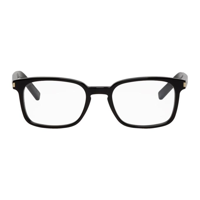 Black Sl 7 Glasses by Saint Laurent