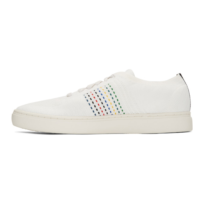 PS by Paul Smith White Doyle Knit Sneakers