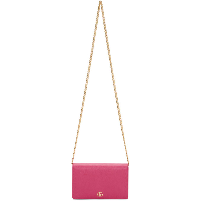 GUCCI PINK SMALL MARMONT BAG