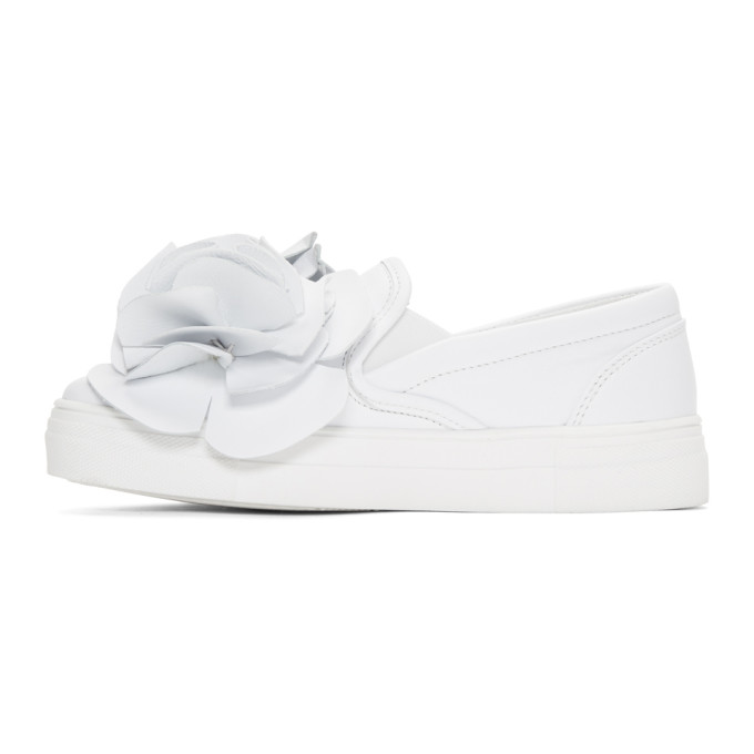 Sophia Webster White Jumbo Lilico Adele Sneakers