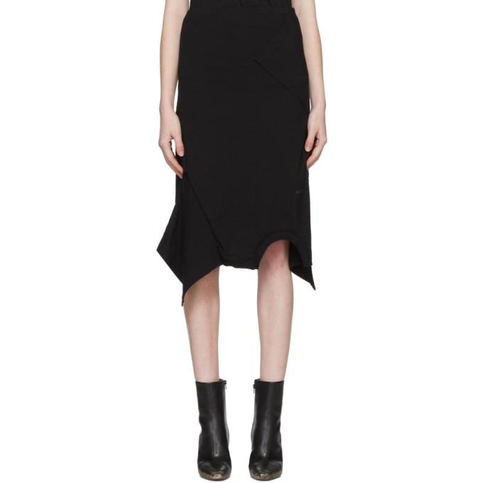 Vetements  Black T-Shirt Skirt