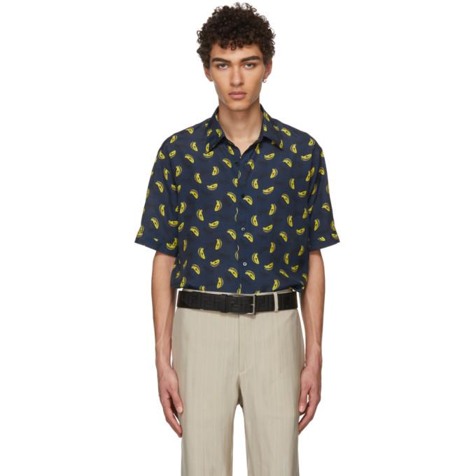 7834e0e22cb0 FENDI Navy Banana Shirt