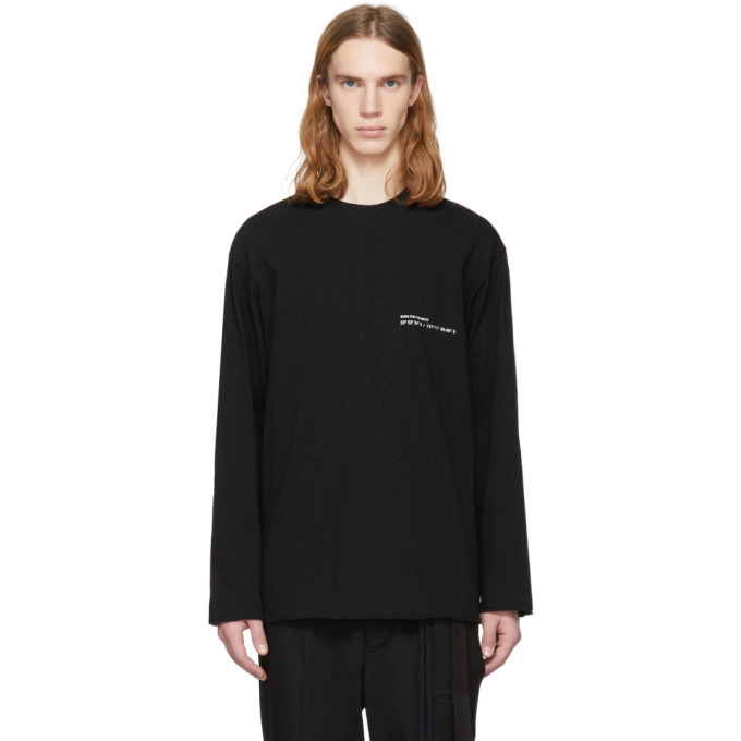 Song For The Mute  SONG FOR THE MUTE BLACK COORDINATES SWEATSHIRT