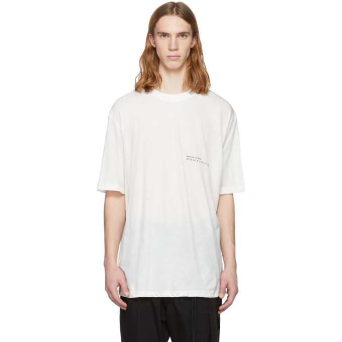 Song For The Mute  White 'Wander Kid' Oversized T-Shirt
