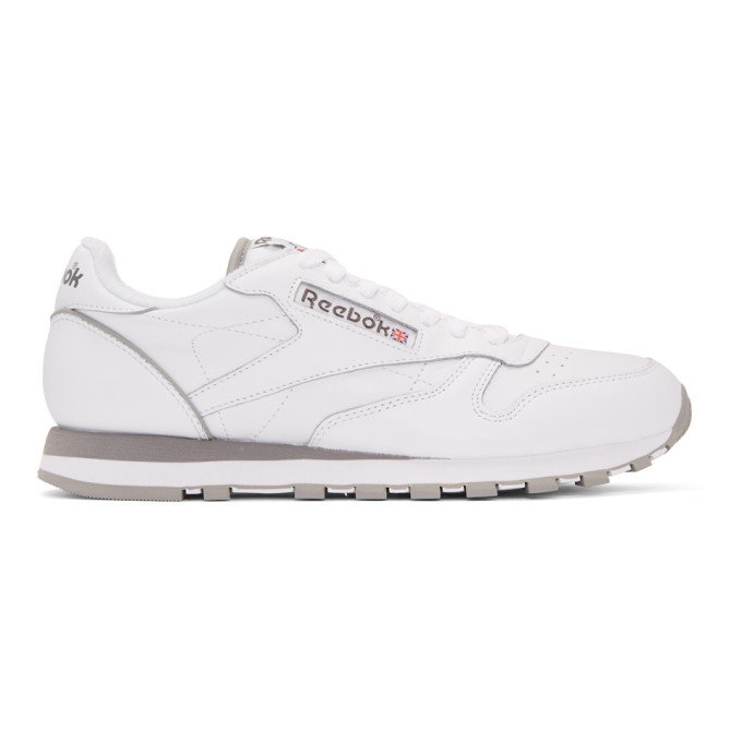 sporty lace-up sneakers - White Reebok