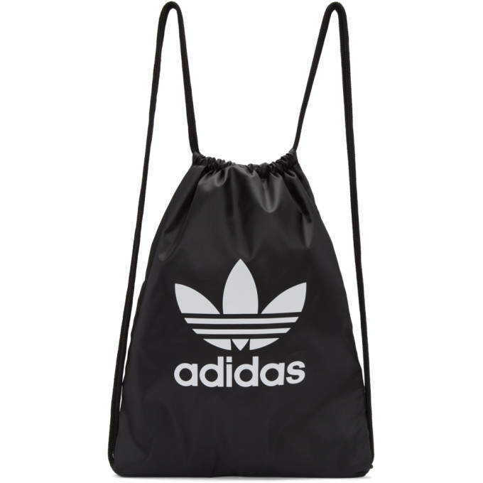 Adidas Adidas Originals Trefoil Drawstring Backpack - Black