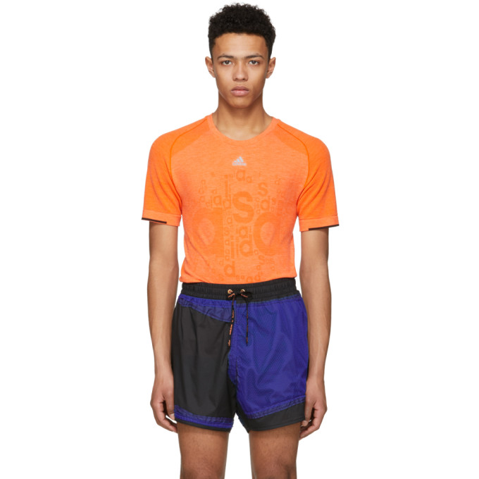 ADIDAS BY KOLOR Adidas X Kolor Orange Primeknit T-Shirt