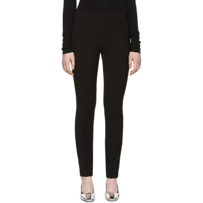 Toteme Cruz Stretch-Crepe Track Trousers - Black