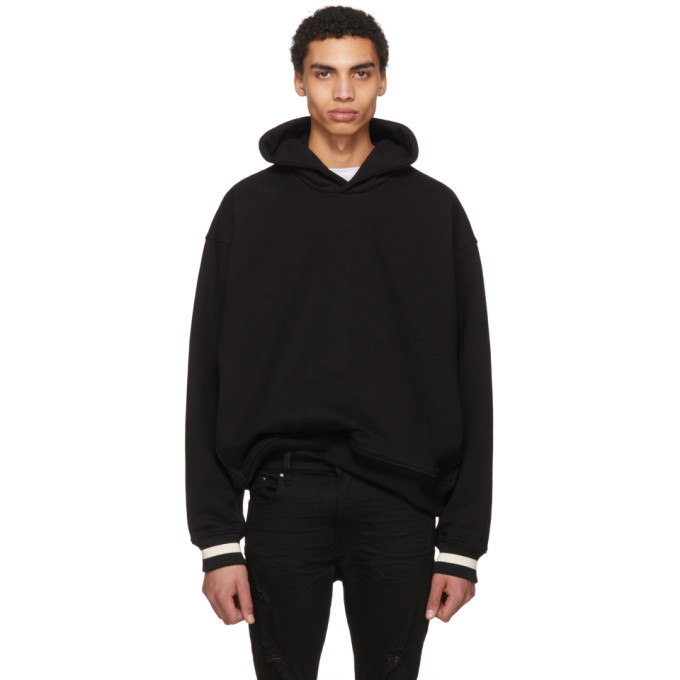 Black Heavy Terry Everyday Hoodie by Fear Of God