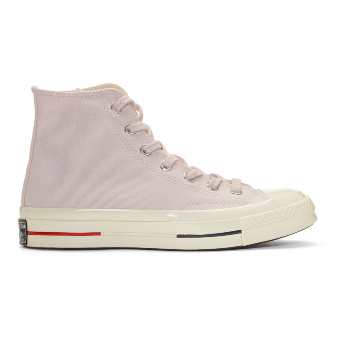 83770b37b7ccc CONVERSE. BASKETS MONTANTES ROSES CHUCK TAYLOR ALL STAR 70 S