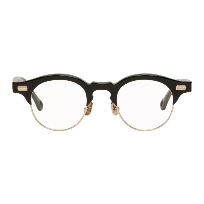 NATIVE SONS BLACK AND GOLD HITCHCOCK GLASSES