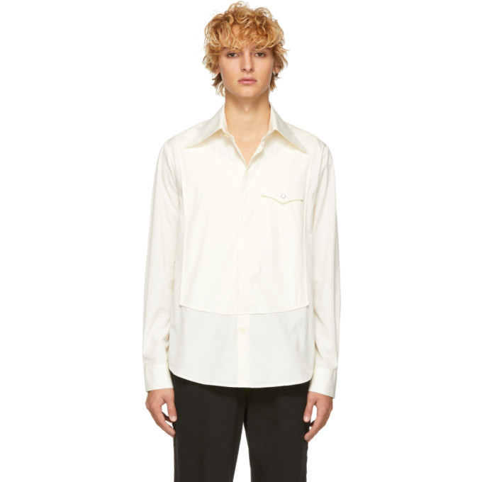 Ssense Exclusive Off White Dimanche Shirt by St Henri