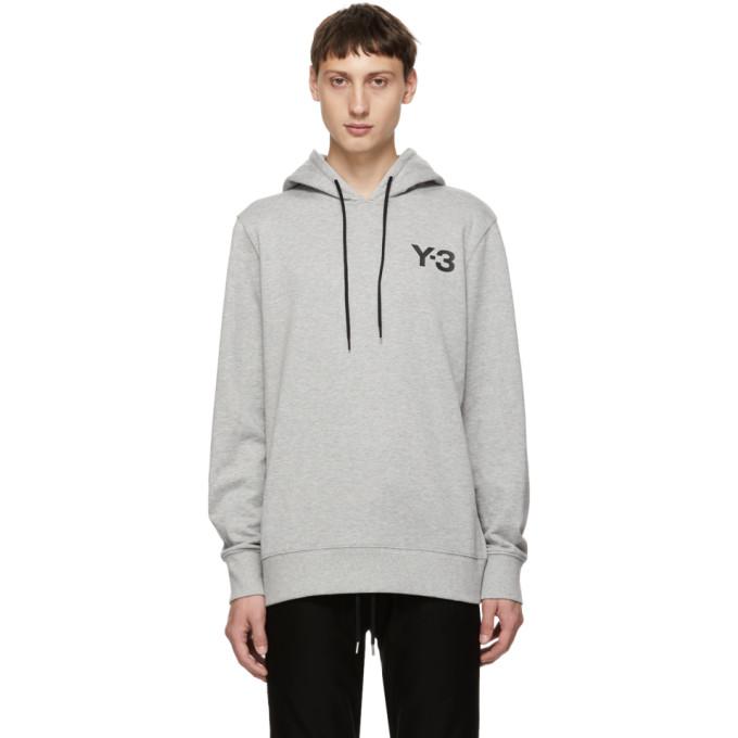 Men'S Classic Logo Hoodie Sweatshirt, Grey