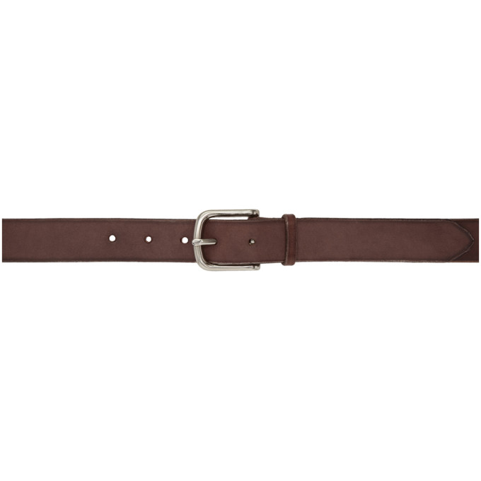 MAXIMUM HENRY BROWN AND SILVER STANDARD WIDE BELT