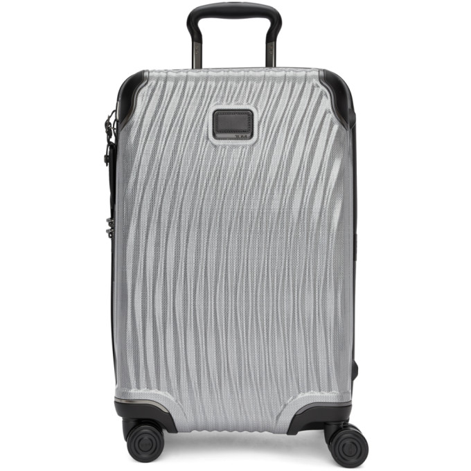 TUMI SILVER INTERNATIONAL CARRY-ON SUITCASE