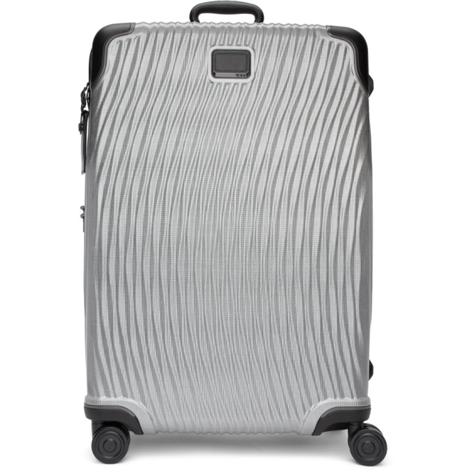 TUMI SILVER EXTENDED TRIP LATITUDE SUITCASE