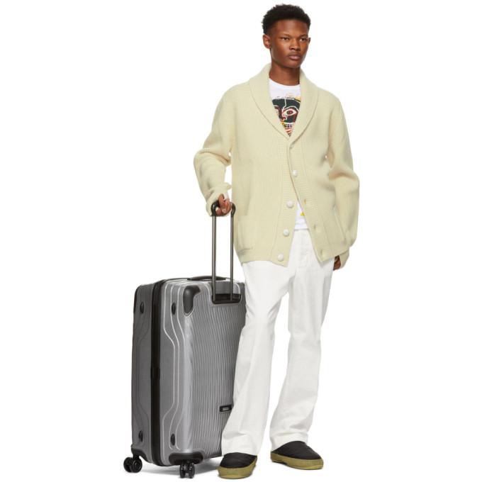 TUMI Silver Extended Trip Latitude Suitcase