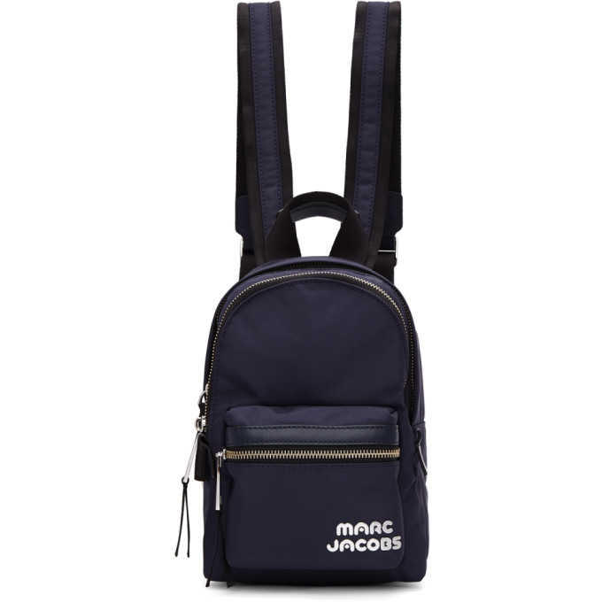 Marc Jacobs Navy Mini Backpack, 415 Midnigh