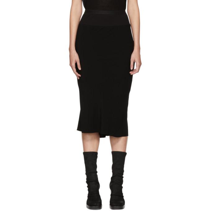 Rick Owens Central Cascade Skirt - Black