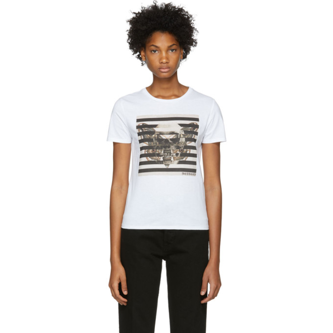 Alexander Mcqueen Graphic Print T-Shirt - White