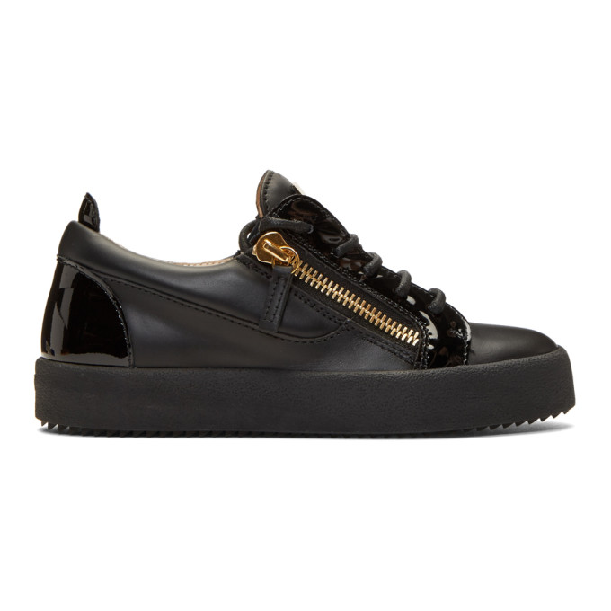 GIUSEPPE ZANOTTI BLACK MAY LONDON DONNA SNEAKERS