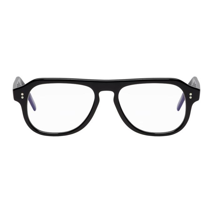 Cutler And Gross - Aviator Frame Glasses - Mens - Black