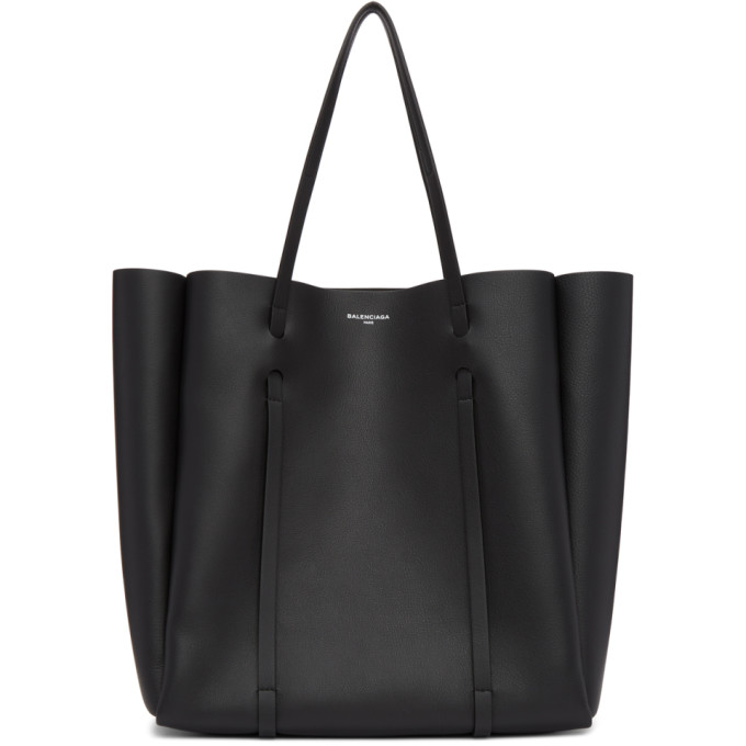 Balenciaga Black Medium Everyday Tote in 1000 Black