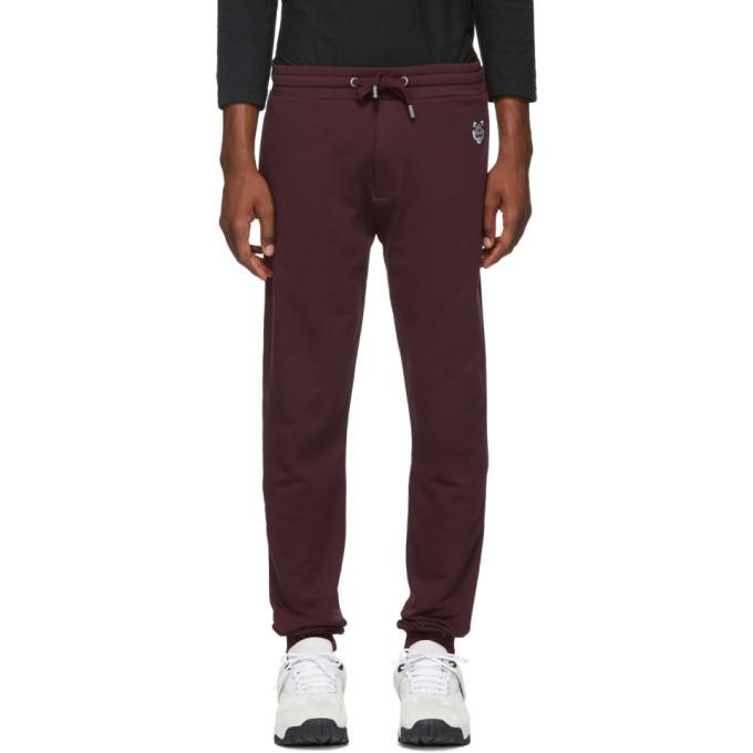 Kenzo Tiger Track Pants - Pink & Purple