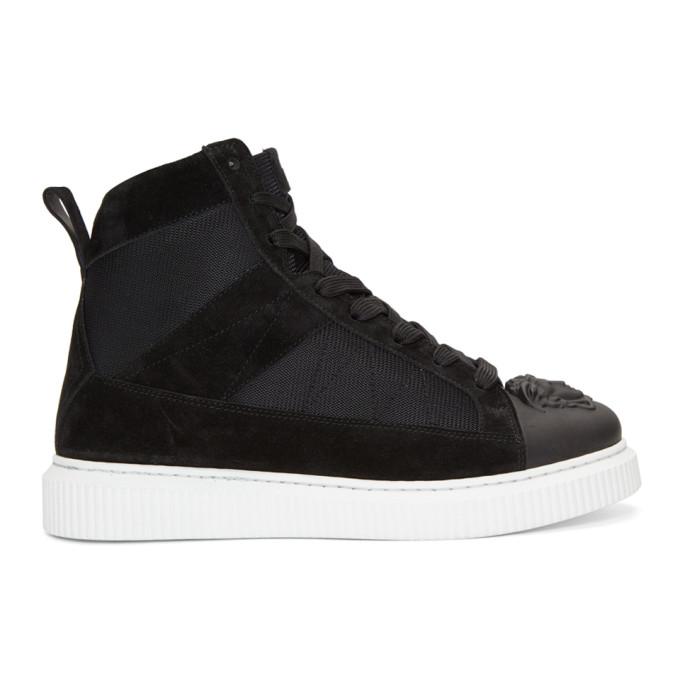 Nyx Hi Top Sneakers in Black