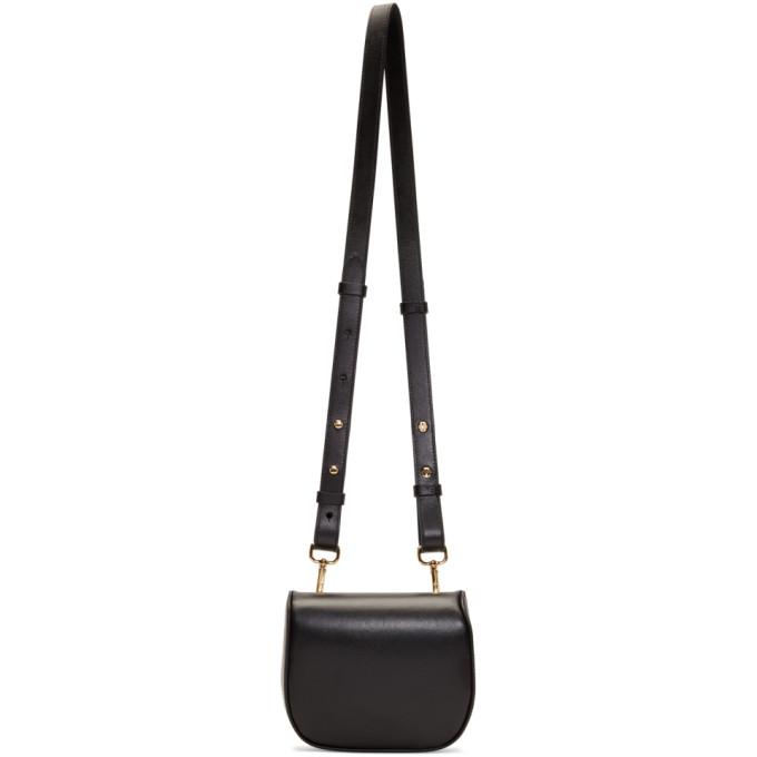 Black Mini Box Belt Bag from SSENSE