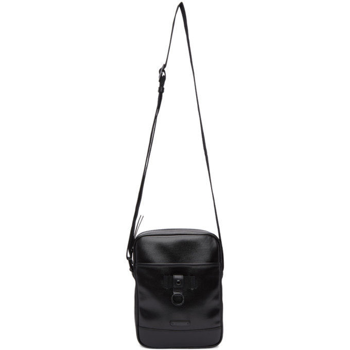 SAINT LAURENT Black Tonal Rivington Cross Body Bag