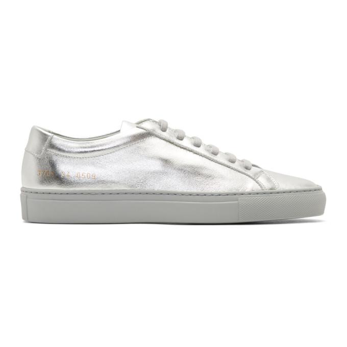 Original Achilles Sneaker, Silver Leather