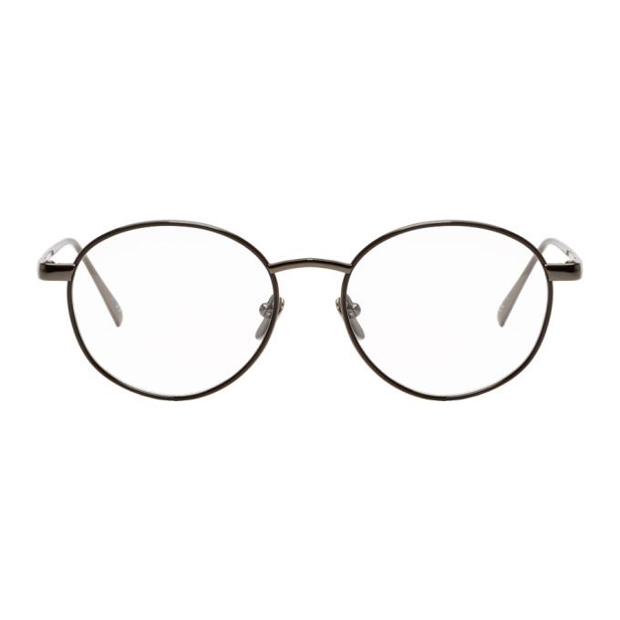 LINDA FARROW LUXE GREY 748 C5 GLASSES
