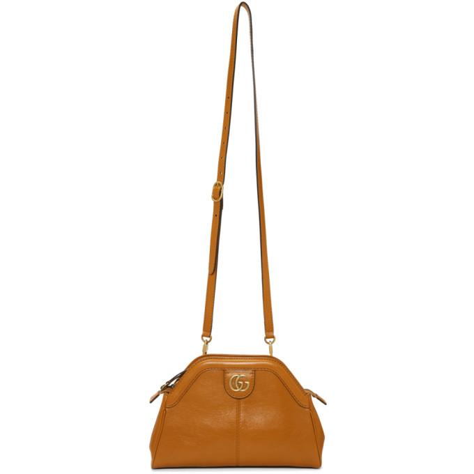 Tan Linea Shoulder Bag by Gucci