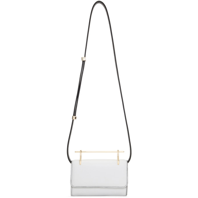 M2MALLETIER WHITE MINI FABRICCA BAG