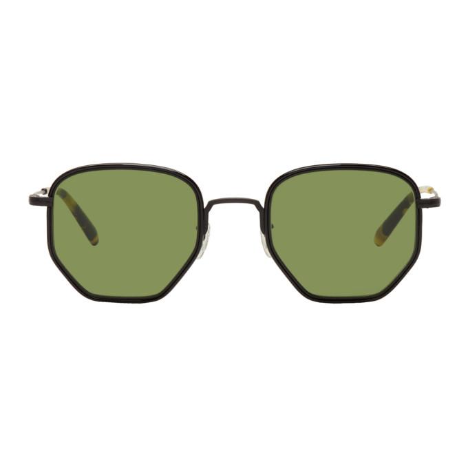 Oliver Peoples Black & Tortoiseshell Alland Sunglasses