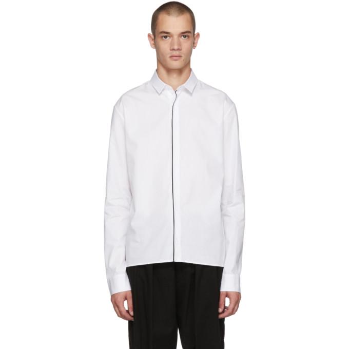 HAIDER ACKERMANN Button Down Shirt  in White