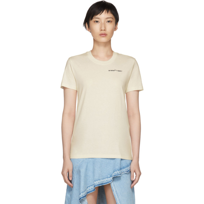 OFF WHITE QUOTES CASUAL TEE