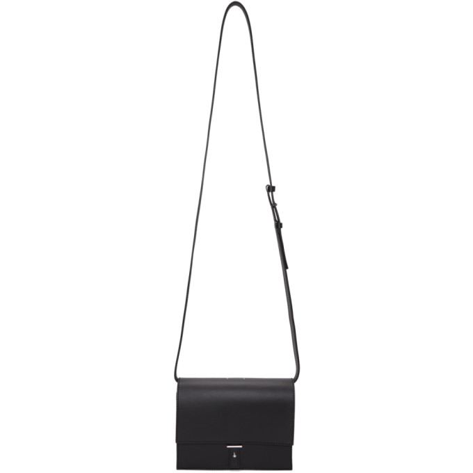 PB 0110 Pb 0110 Black Flap Bag