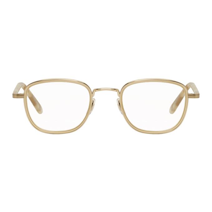 GARRETT LEIGHT GOLD GARFIELD GLASSES