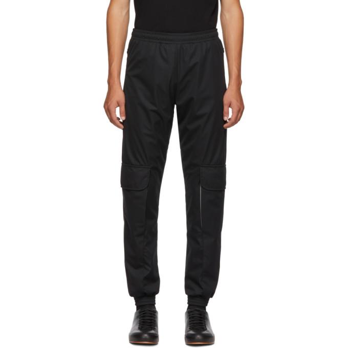 COTTWEILER Cottweiler Ssense Exclusive Black Nylon Cargo Trousers