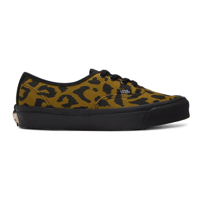1d9a810f6b6 Vans Og Authentic Lx In Leopard Blk