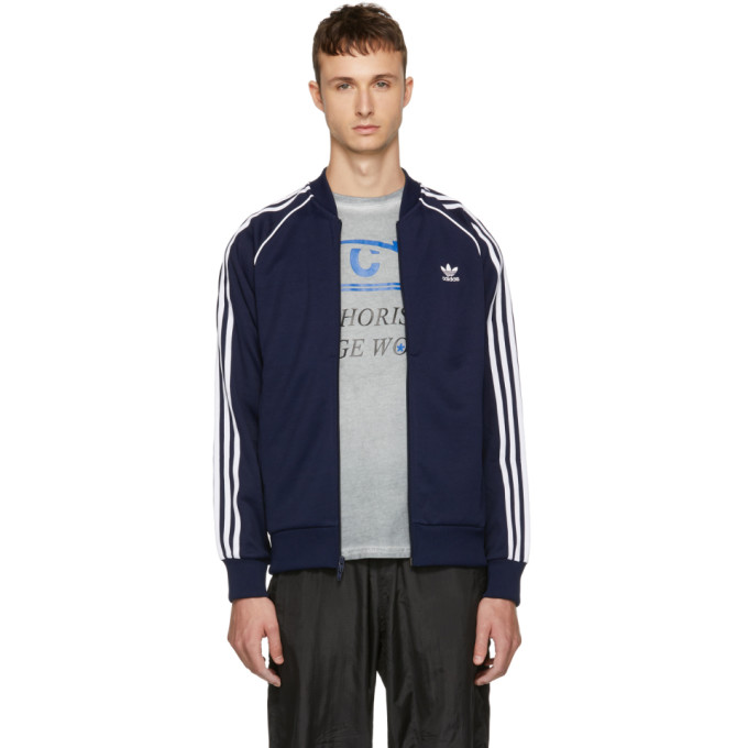 ADIDAS ORIGINALS NAVY SST TRACK JACKET