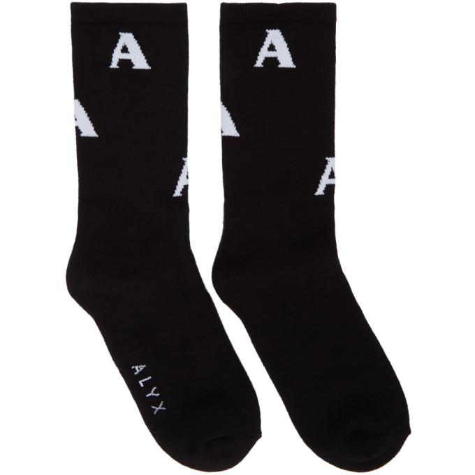 ALYX BLACK TRIPLE A SOCKS