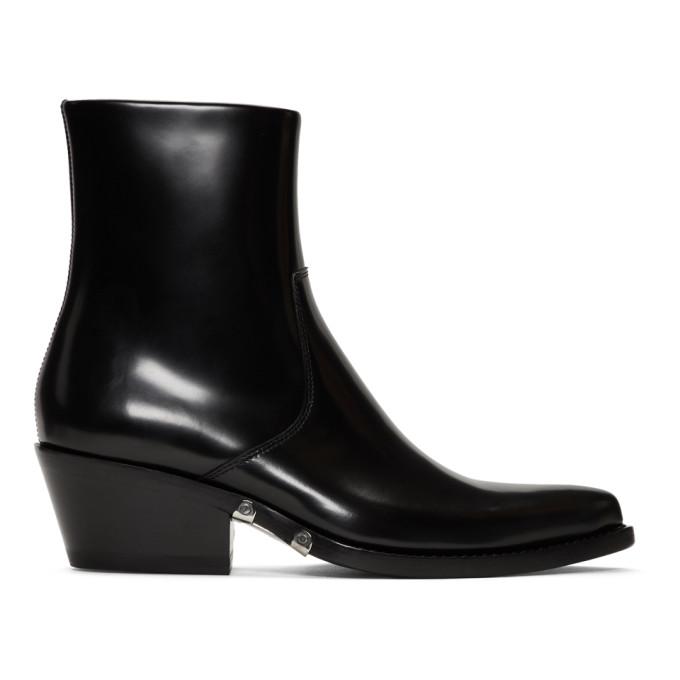 Black Tiesa Boots by Calvin Klein 205 W39 Nyc