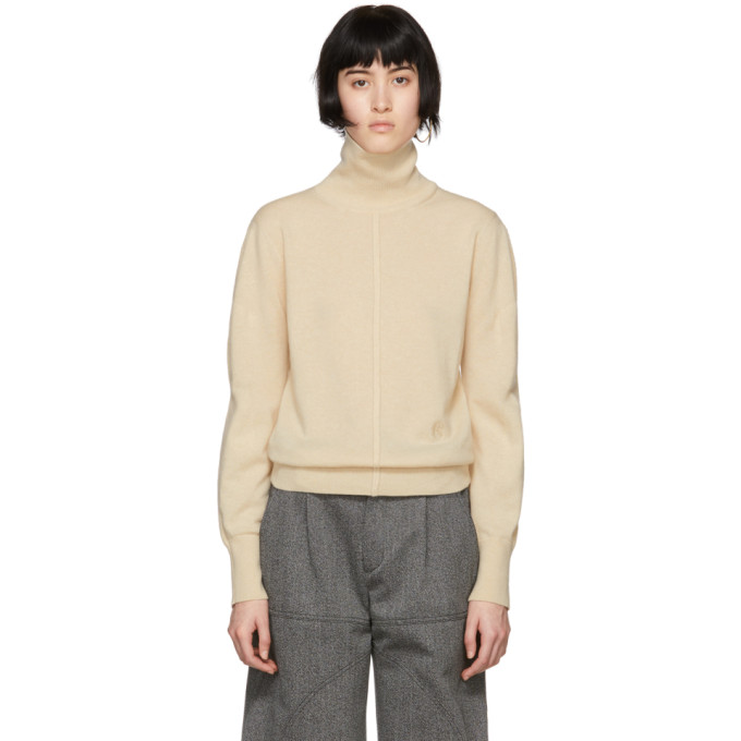 Beige Iconic Cashmere Turtleneck by ChloÉ
